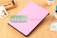 2015 leather flip cover and case for ipad 6