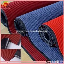 non woven velour carpet with pvc backing