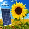 Top quality factory price 48 volt mono solar panel 250w