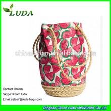 LUDA 2012 Fashion Paper Straw Bags Wholesale Handbags