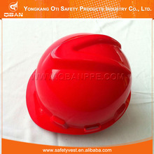 CE Certificate HDPE Or ABS material construction Solar Safety Helmet With Fan Helmet