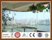 ISO frameless folding window export to Singapore