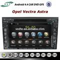 Mais novo Android 4.4 Rockchip A9 dual core sistema de áudio do carro Car Dvd rádio com Gps de navegação para Opel Astra Vectra Zafira Corsa