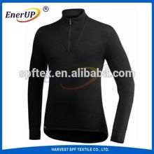 Soft Round sweat absorbing t shirts thermal Underwear