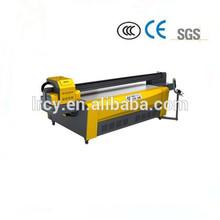 1300 x 2500 mm large format uv flatbed printer / digital uv glass printing machine