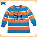( a3179) de nova marca de desgaste dos miúdos meninos camiseta casual vestuário infantil china