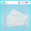 Descartável máscara facial/máscara cirúrgica/máscara facial fornecedor a granel