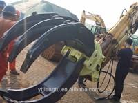 O&K excavator hydraulic rotating/rotatory grapple