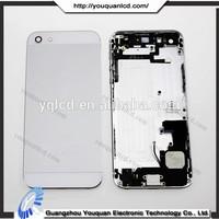 Color change back cover for iphone 5 transparent back housing