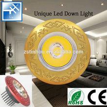 Top level hot sell led downlight vs halogen