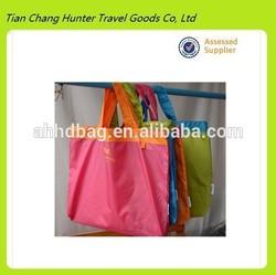 HDG2326 promotional shopping bag,cheap nylon foldable shopping bag,cheap printed shopping bags