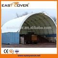Doble 52'x40' puenteenarco cúpulas refugio para el envío de contenedores