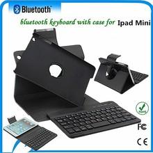 For ipad mini buletooth keyboard case