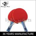 Qualidade comparável para a primeira - linha profissional raquete de tênis de mesa de borracha 5 estrela