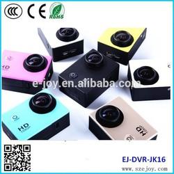 Waterproof 30meters 720P Full HD DV mini protable cam JK16A, wireless outdoor camera