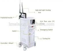 Fractional CO2 scar removal birmark removal skin rejuvenation laser machine