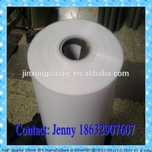 LDPE heat shrink plastic film for 350ml/500ml/1500ml bottle beverage