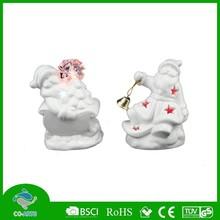 White porcelain christmas decoration ceramic gift