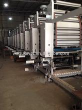 GWASY-A Model Rotogravure Printing Machine For BOPP,PET,PVC Shrink Film