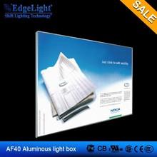 Edgelight AF40 Fabric advertising light box light frame