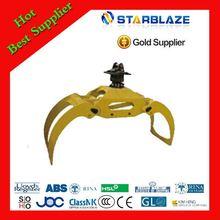 New products professional 20 tones electric grab bucket crane
