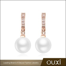 OUXI New arrival pearl earring designs
