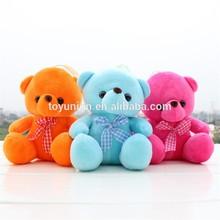 22cm colorido teddy bear preço barato brinquedos, baratos ursinho de pelúcia para a promoção