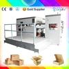 semi automatic paper feed semi auto die cutting machinery