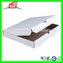 N697 Personalized Custom 10 Inch White Corrugated Plain Box Pizza