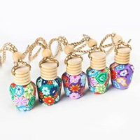 Car Perfume Diffuser Container Empty Bottle Container Refill Perfume