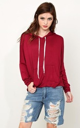 cranberry cozy knit thick thick hoodies for motorcross