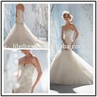 Lace Appliqued Heart Shaped Back Mermaid Floor Length Custom Make Long Formal Bridal Robe De Mariee BW332 xxl wedding dresses