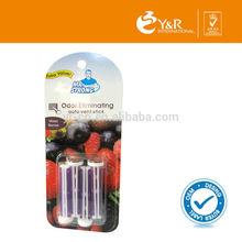 Chinease Car Odor Neutralizing Eliminator Purple Vent Sticks Air Freshener