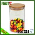 alta borossilicato doces jarra de vidro com tampa de vidro design personalizado frasco de doce e quente de vendas de doces jarra de vidro com tampa
