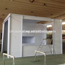 hot selling/high quality /electrostatic/powder coating/ booth manufacturer/designer