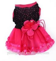 Pet Dog Cat Clothes Bling Tutu Dress Princess Lace Bubble Skirt Apparel Costume