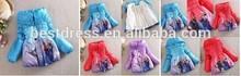 New Princess Snow Suit Girls Kids Coat Jacket snowsuit outwears kids slim
