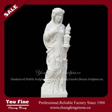 Elegant Hand Made Life Size Marble Statue