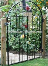 powder coated metal single garden gates