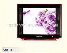 21 inch ultra slim pure flat CRT TV