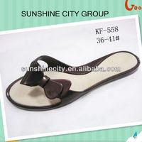 HOT SALE SOFT PVC SLIPPER WOMEN OUTDOOR SHOES