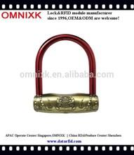 Hot lock digital safe padlock alarm OBL-178 for push bikes