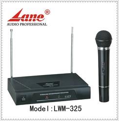 Lane *LWM-325 professional cheap vhf microphone wireless for show/karaoke/meeting