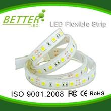 Flexible SMD 60LEDs/M white color cheap LED strip light 50 50