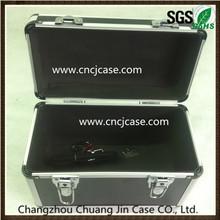 Black Aluminum Briefcase Storage Tool Box