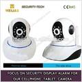 Ip inalámbrica de vigilancia de Internet de la cámara con teléfono de monitoreo remoto soporte