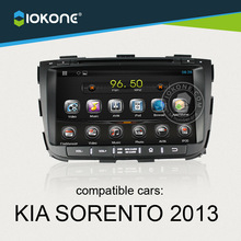 OEM android car audio with gps navigation/3g/wifi for KIA Sorento 2013