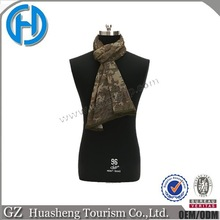 Breathable Outdoor Muffler Mesh Jungle Camo Scarf