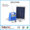 2014 new and hot portable 250w 12v dc 220v ac solar systems and inverters drive tv electric fan