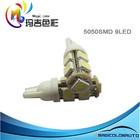 High Lumen T10 Wedge Car Bulb 5050 SMD LED Lights
